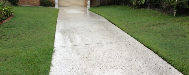 3 spalling concrete repair methods to save your driveway for Polished concrete maintenance